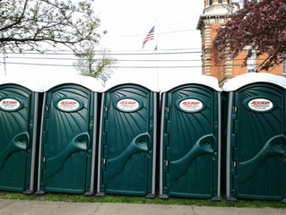 Portable Restroom Season is HERE!