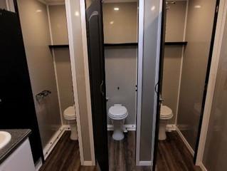 Restroom trailer has ARRIVED !