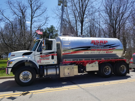 Nice Weather Ahead! Schedule your septic tank cleaning today!