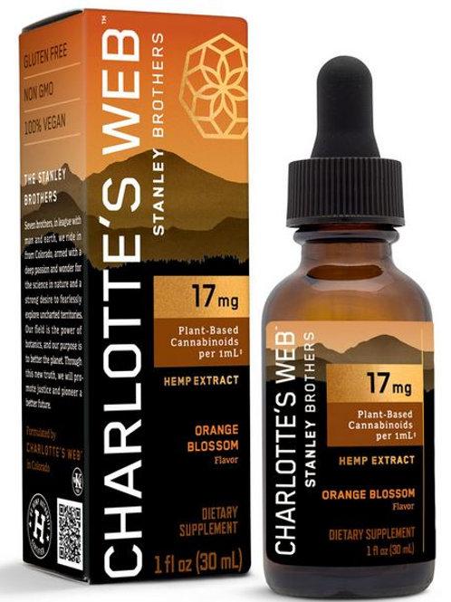 17mg CW CBD Oil  - Orange Blossom Flavor