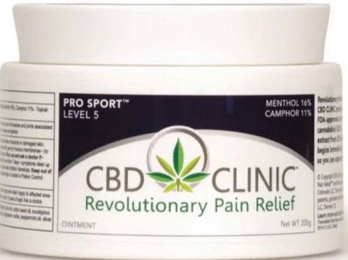 CBD Clinic Level 5 (200mg CBD Per 44g Jar)