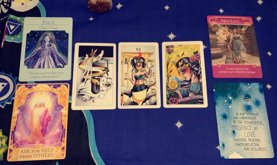 November reading for EARTH signs!