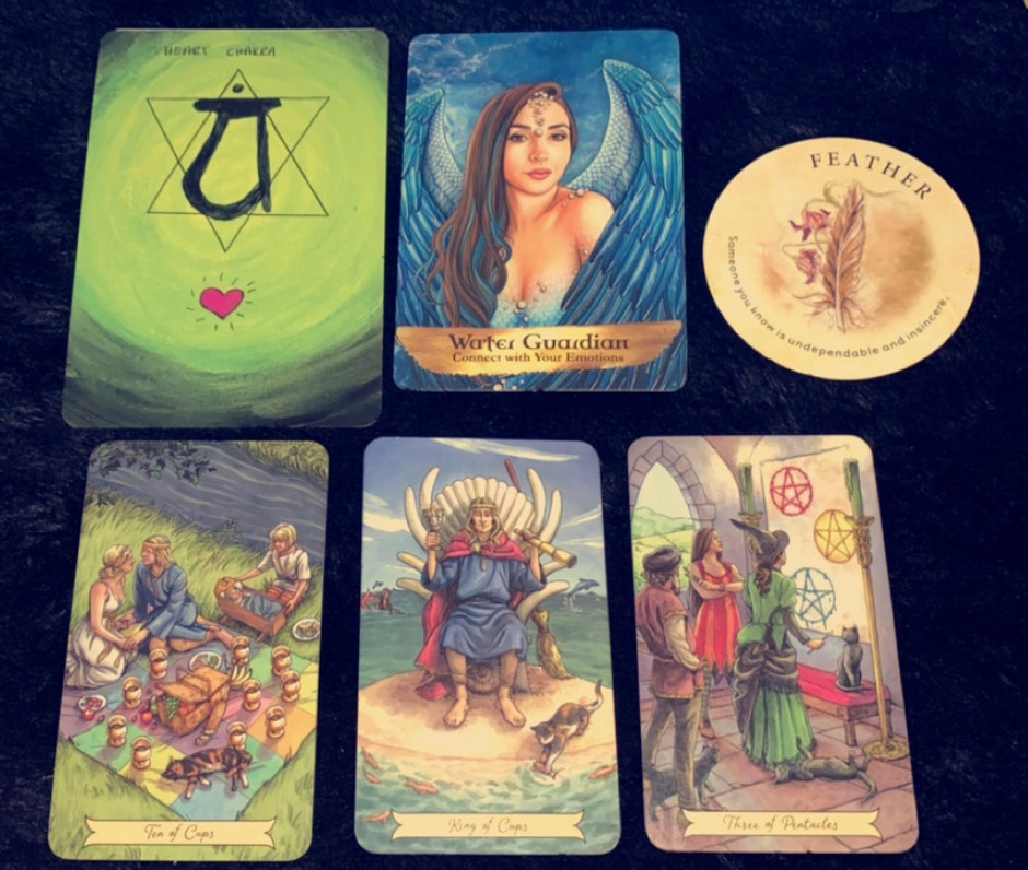 January reading for AIR signs!