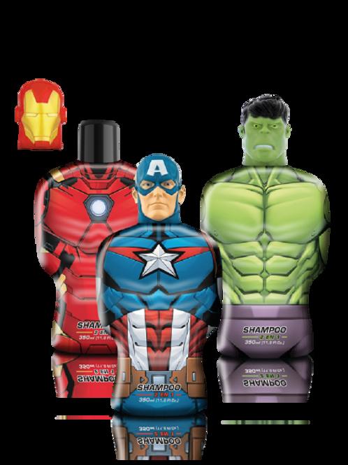 Shampoo 2 en 1 Avengers x 350 ml.