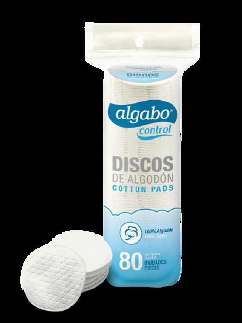 Discos de algodón x 80 unid.