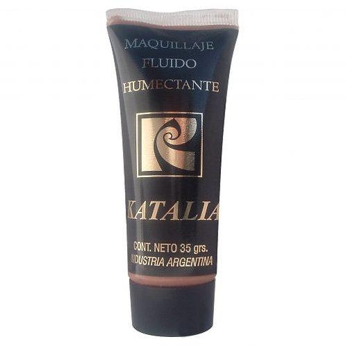 Maquillaje fluído humectante en pomo