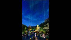 高徳院(長谷の灯り2018)  2018年8月