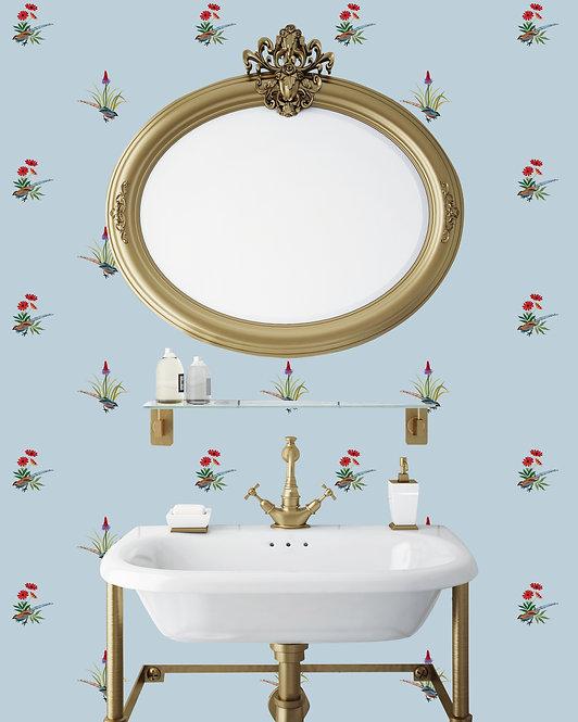 flower, papier peint, panoramique, flower, wallpaper, walldecor, fresque, coquelicot, panoramic, decor mural