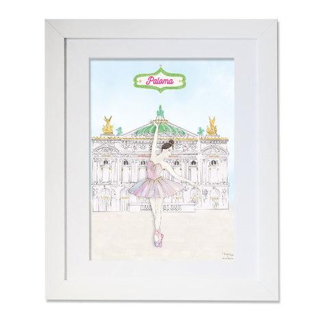 maison juli, opéra,opéra garnier, danseuse étoile,paris, illustration, dessin, aquarelle, mlle mouns, ballerine
