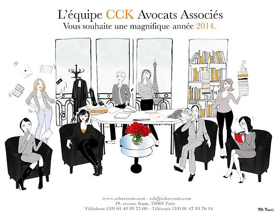 cck avocat, cartedevoeux , illustration, design, paris, montgolfière, oiseau, avocats, invitation, jour de lan, bonne année, happynewyear, silhouette, dessin, portrait, gif, paris, bureau, droit civil, orange