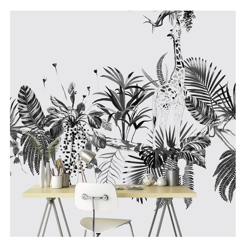 panoramique, papier peint, wallpaper