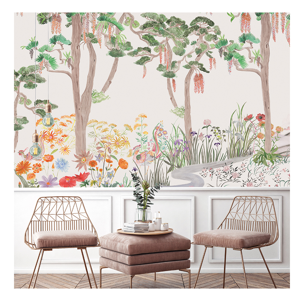 papier peint panoramique, decormural