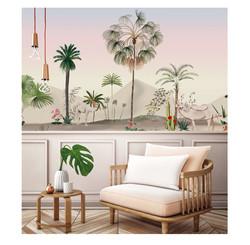 décor mural, fresque, panoramique