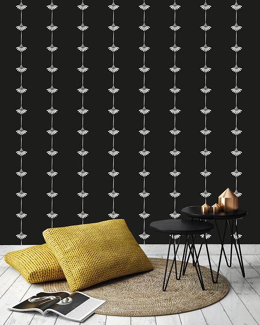 daisy, papier peint, panoramique, fleur, wallpaper, walldecor, fresque, flower, panoramic, decor mural