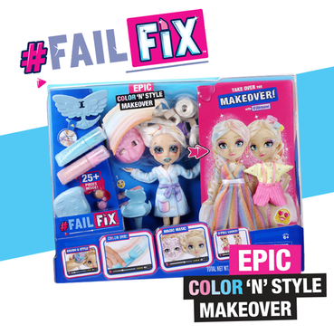 Fail Fix Colour N Style Makeover