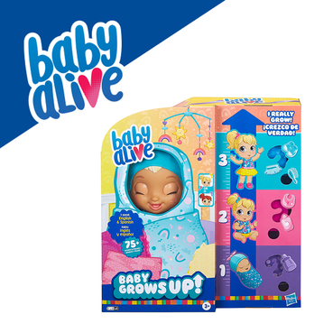 Baby Alive Baby Grows Up