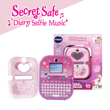 Secret Safe Diary Selfie Music