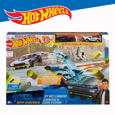 Hot Wheels Spy Race Eliminator