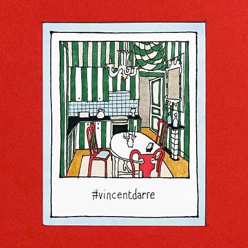 Instapolaroid Drawing   Vincent Darré #01
