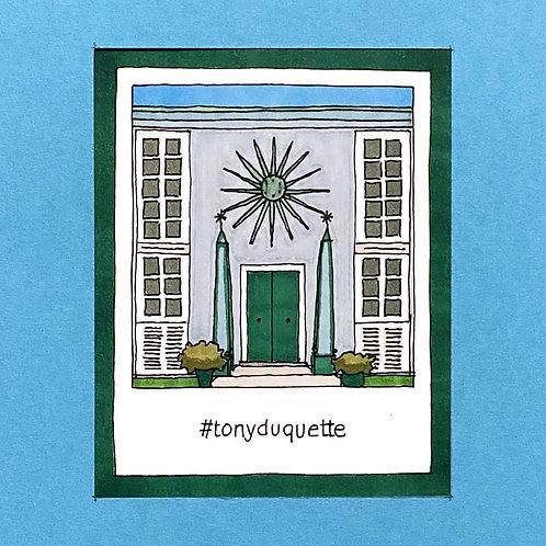 Instapolaroid Drawing | Tony Duquette #01