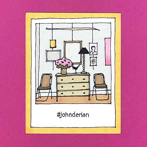 Instapolaroid Drawing | John Derian #01