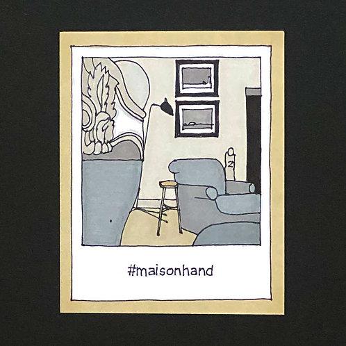 Instapolaroid Drawing | Maison Hand #01