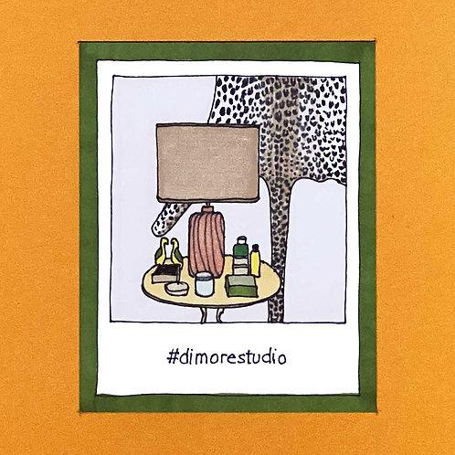 Instapolaroid Drawing   Dimore Studio #01
