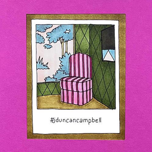 Instapolaroid Drawing   Ducan Campbell #01