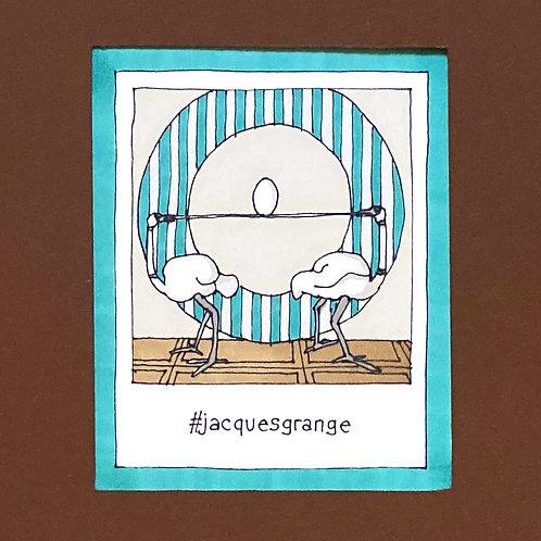 Instapolaroid Drawing | Jacques Grange #02