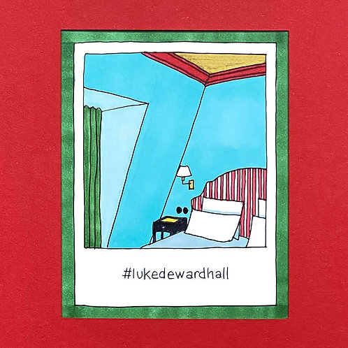 Instapolaroid Drawing | Luke Edward Hall #02