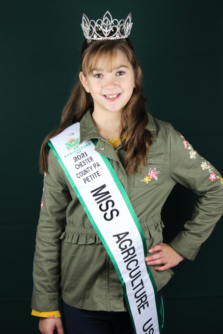 Meet Ellie Harrop, 2021 Chester County PA Petite Miss Agriculture USA!