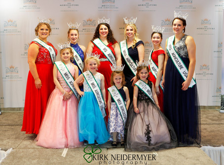 2020 Pennsylvania Miss Agriculture USA Competition Results