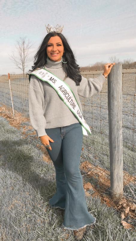 Meet Elizabeth Delaney, 2021 Clark County OH Ms Agriculture USA!