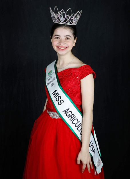 Meet Rebecca Kuhl, 2021 Lancaster County PA Teen Miss Agriculture USA!
