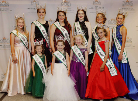 2020 National Miss Agriculture USA Competition Results