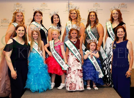 2019 National Miss Agriculture USA Queens Crowned