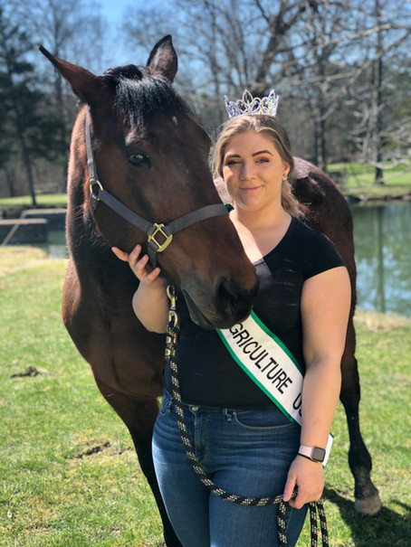 Meet Samantha Greene, 2021 Trumbull County Ohio Miss Agricultural USA!