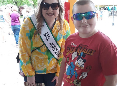 Why it's important to promote agriculture according to our 2019 National Ms Agriculture USA