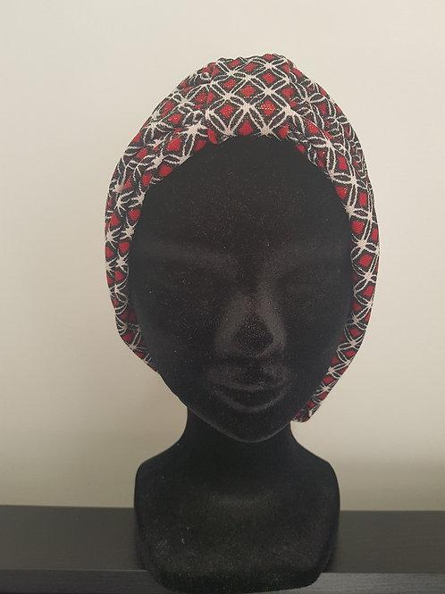 Bonnet en tissu avec élastique