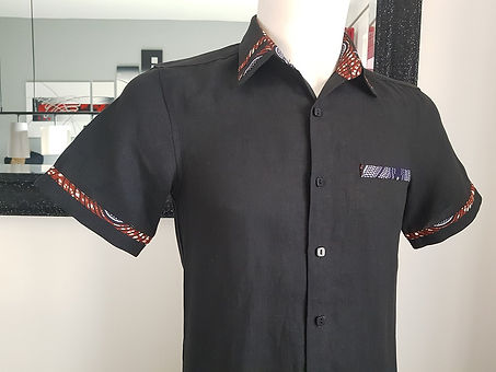chemisette mode homme wax lin