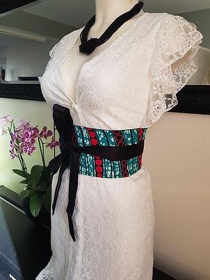 ceinture wax tendance mode femme ethique tenue de soirée