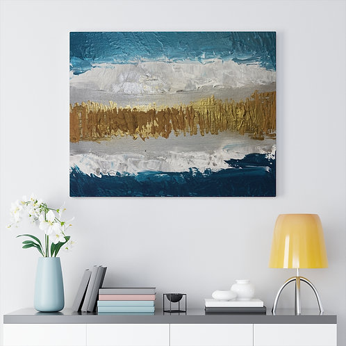 """Waves"" Canvas Gallery Wrap"