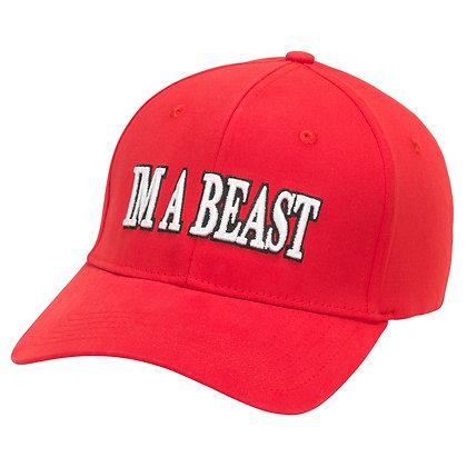 Im A Beast - Flexfit Cap (Red)