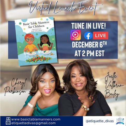 Etiquette Divas Book Launch Event