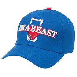 Im A Beast - Flexfit Cap (Blue/White/Red)