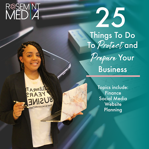 25 Things to Protect and Prepare Your Business