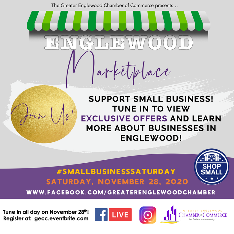 Greater Englewood Chamber of Commerce #SmallBusinessSaturday