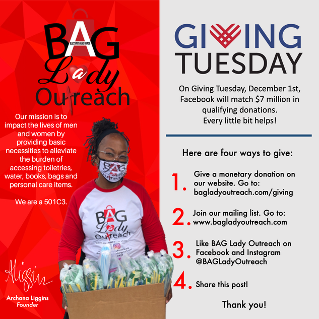 Support BAG Lady Outreach!