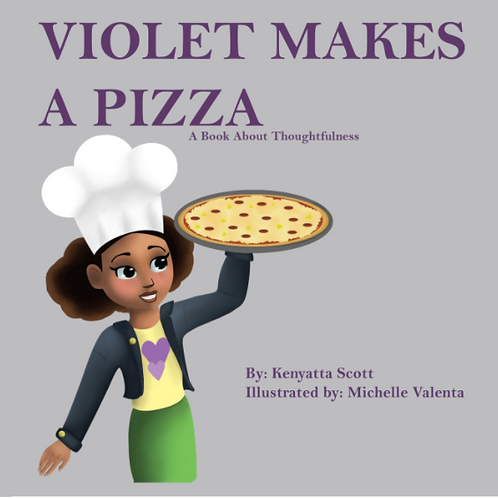 Violet Makes a Pizza