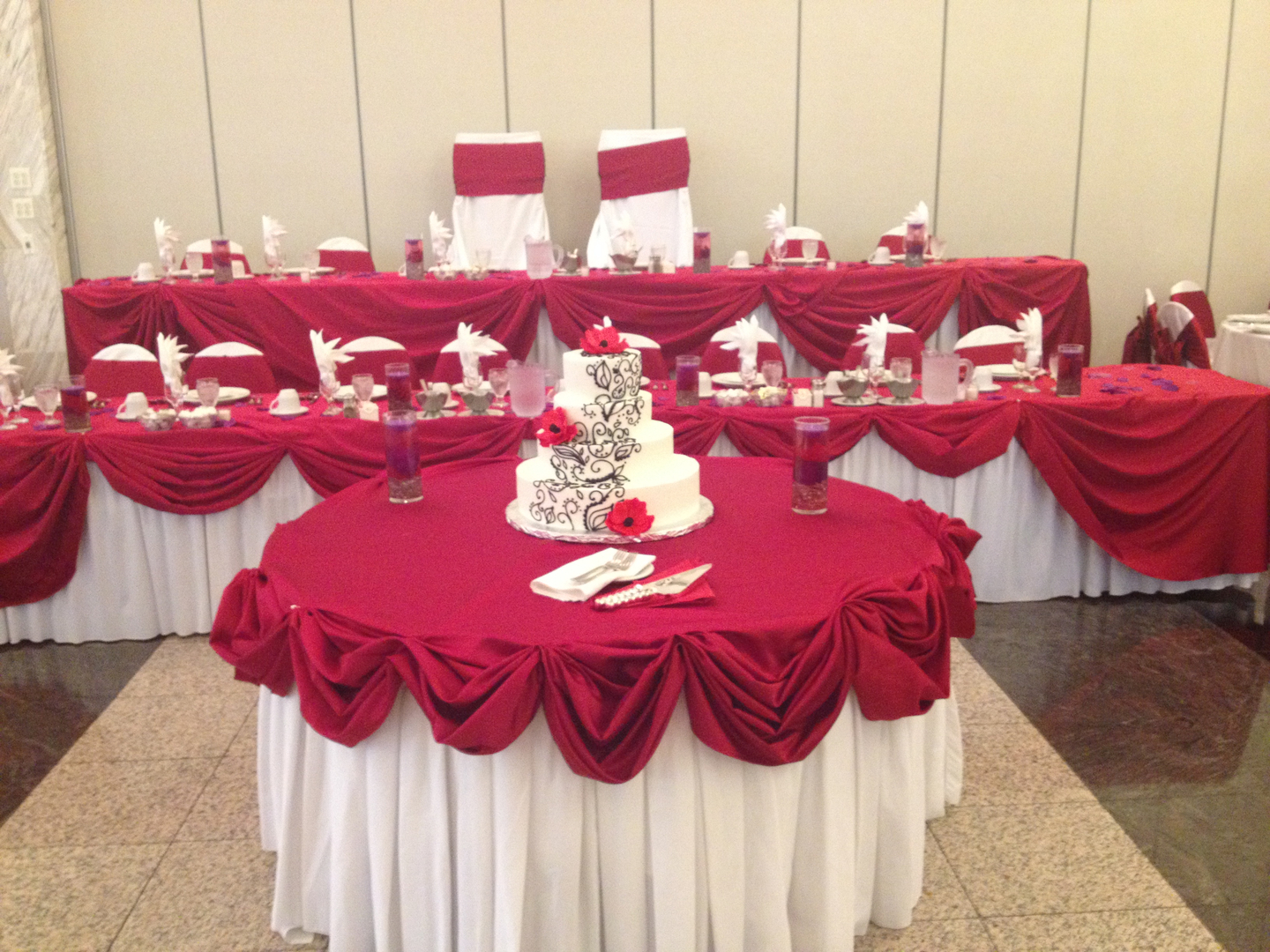 Sarkodie Wedding Decor